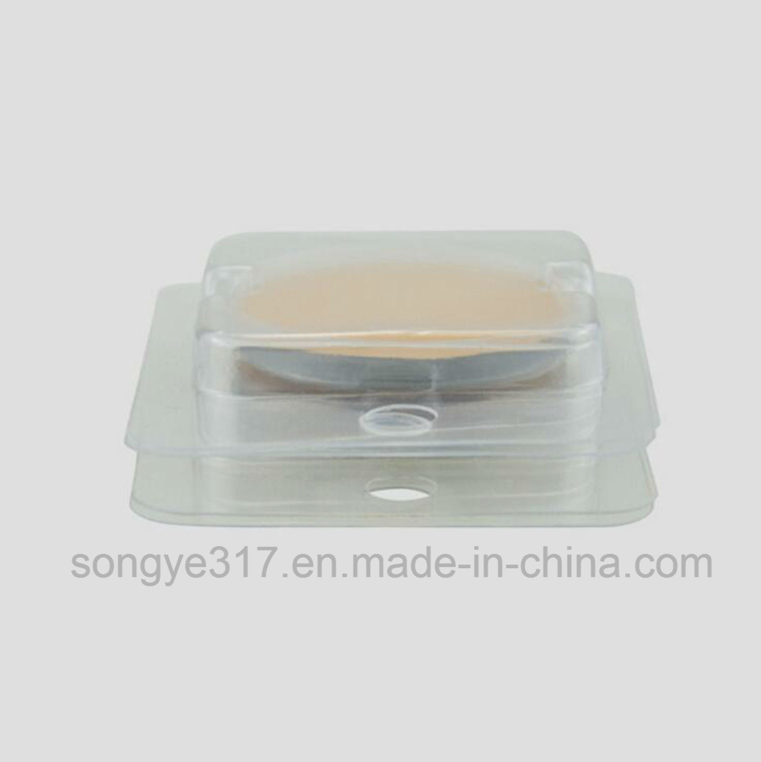 PVC Clear Power Pull Blister Packaging Box