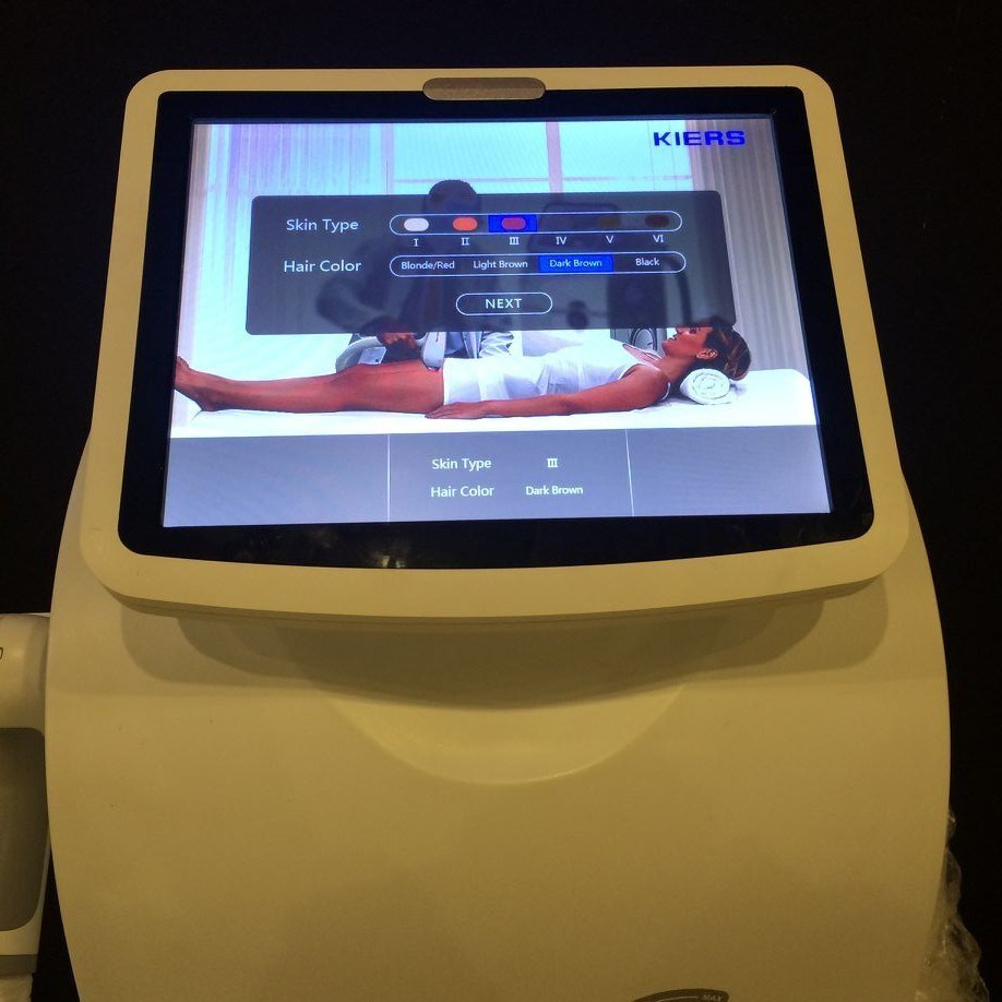 Big Spot Size Vacuum 808 Diode Laser Hair Removal Machine