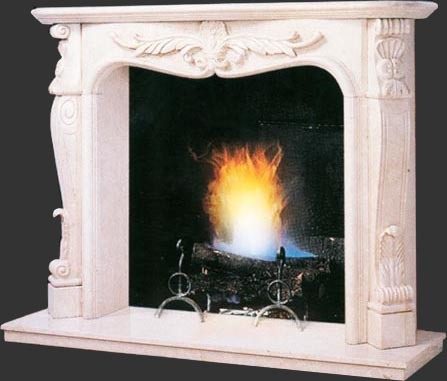 White Marble Fireplace, Marble Fireplace Surround Fireplace Mantel