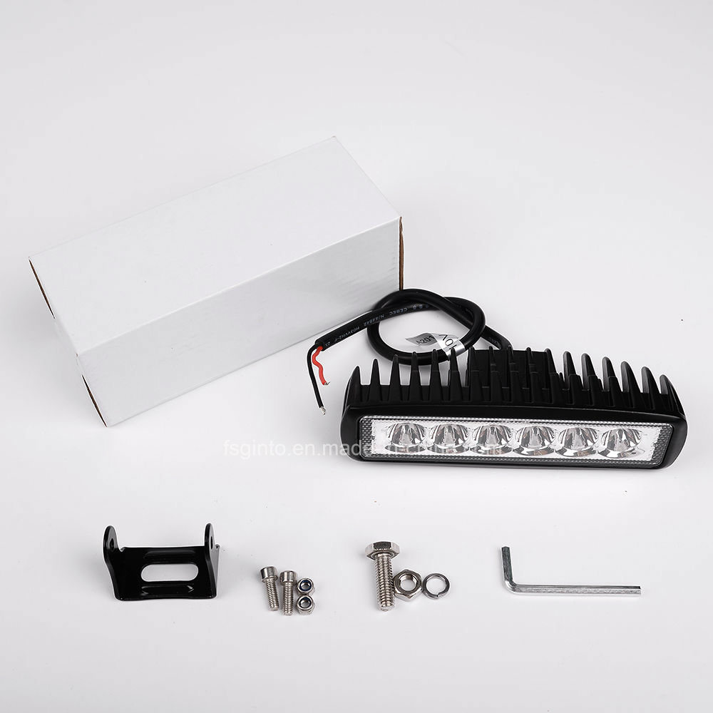 Bright Hot Sale 18W Offroad Epistar LED Work Light (GT1012-18W)