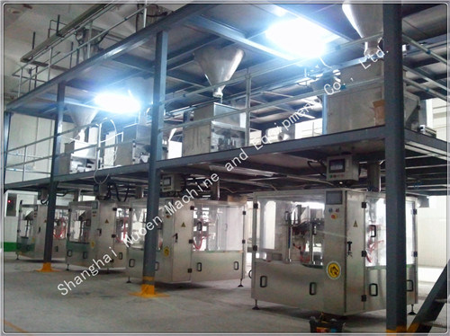 a Fluidized Bed Drying Machine for Flour Production