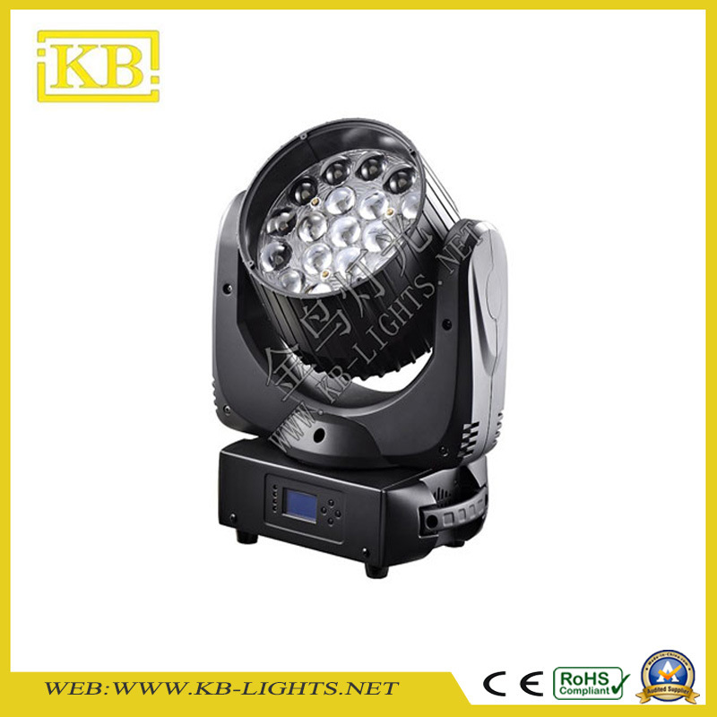 Hot Sale 19PCS 15W Osram LED Moving Head Beam Light Zoom