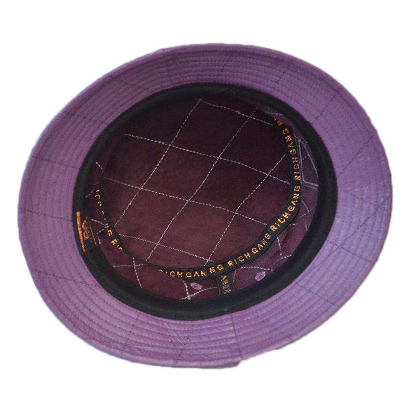 Custom Colour Cotton Outdoor Fishing Bucket Hat Summer Hat