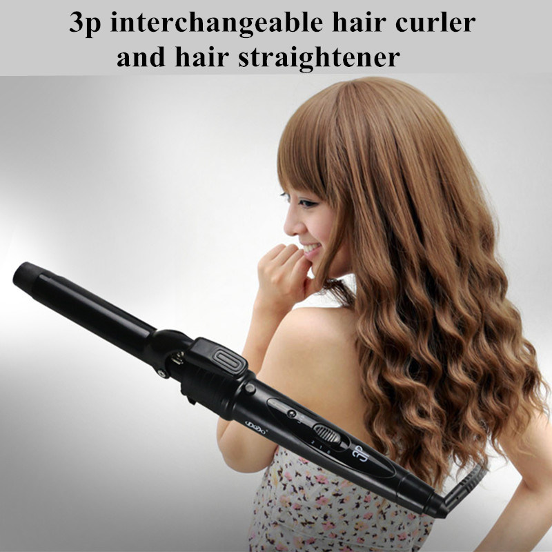 Professional New Magic Hair Curler Removable 3 in 1