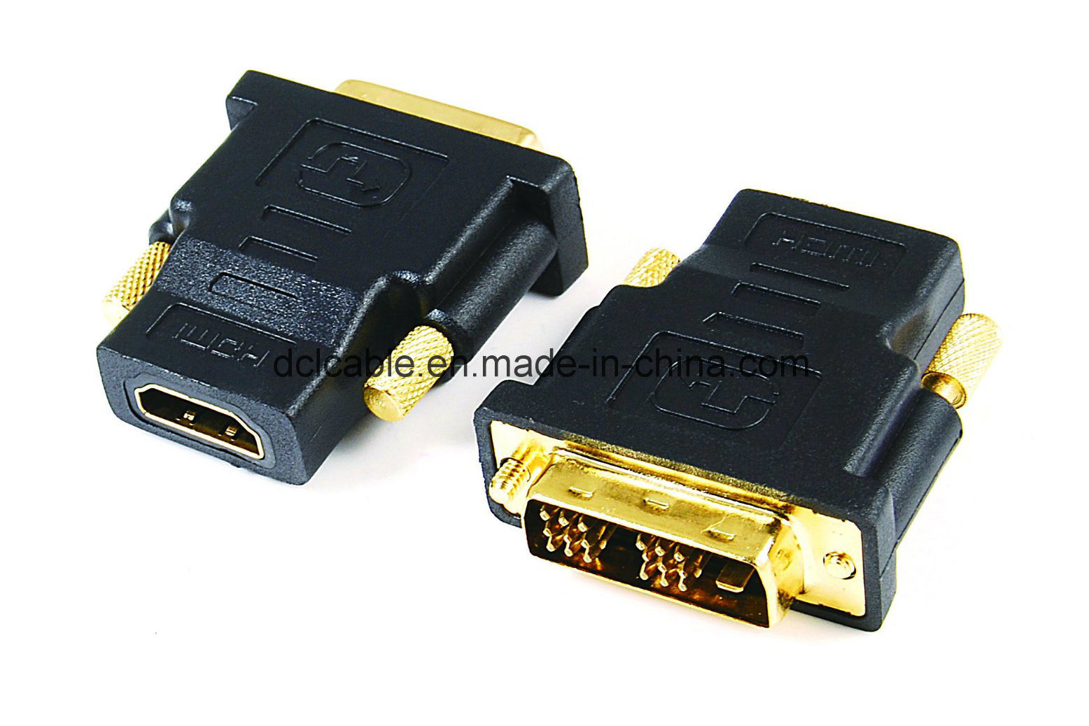 DVI (18+1) Male to HDMI Female Adapter
