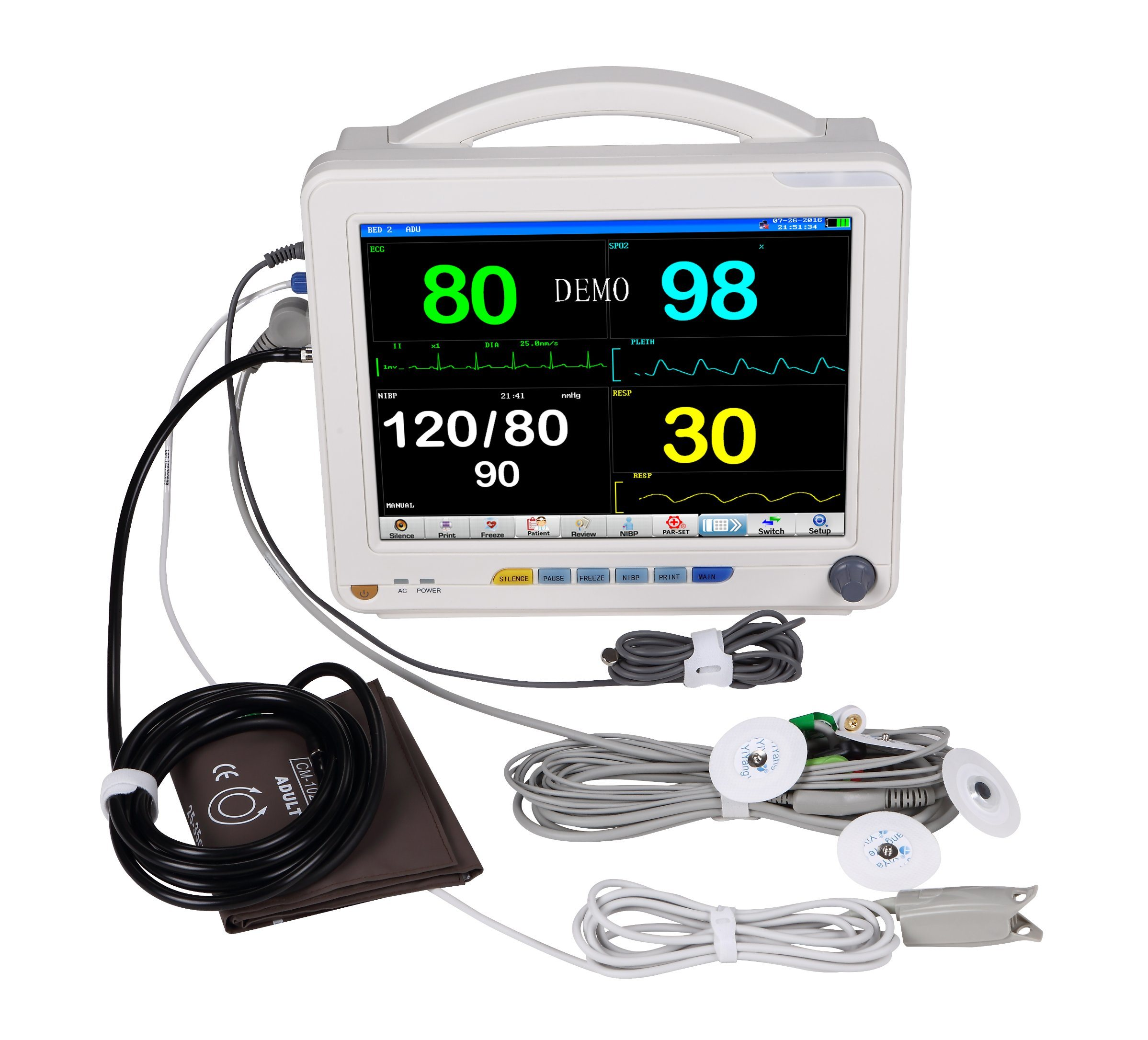 NIBP Vital Signs Patient Monitor