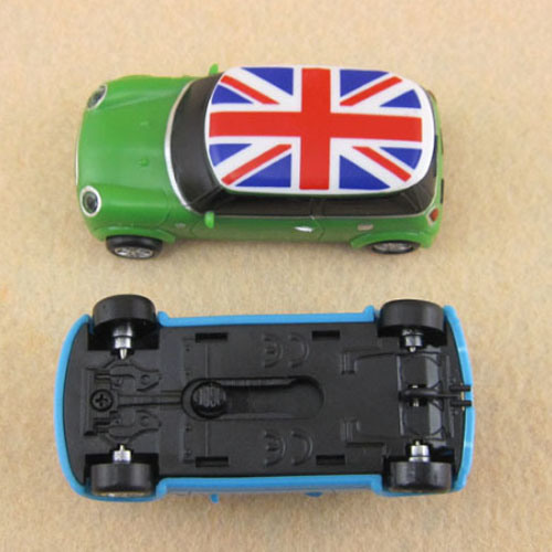 Custom Sliding Car USB Flash Drive Pen Drive for Promotion Gift 128GB