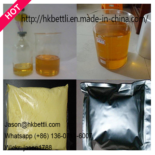 Anabolic Steroid Powder Trenbolone Enanthate Raw Material USP 99% HPLC