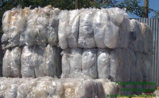 Plastic Film Crushing Washing Drying Line