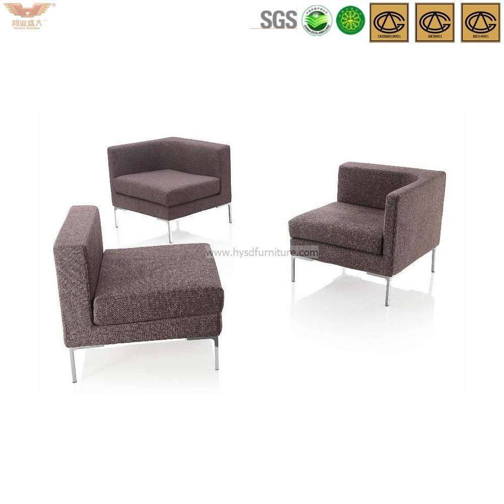 Modern Waiting Area Fabric Sofa-Hls-028