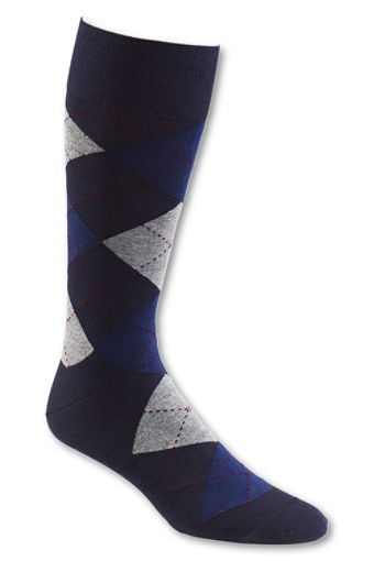 Men′s Cotton Argyle Socks