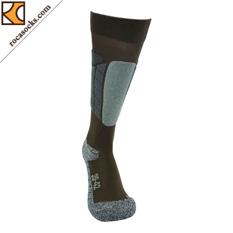 Men′s Thermolite Cotton Ski PRO Light Socks (161003SK)