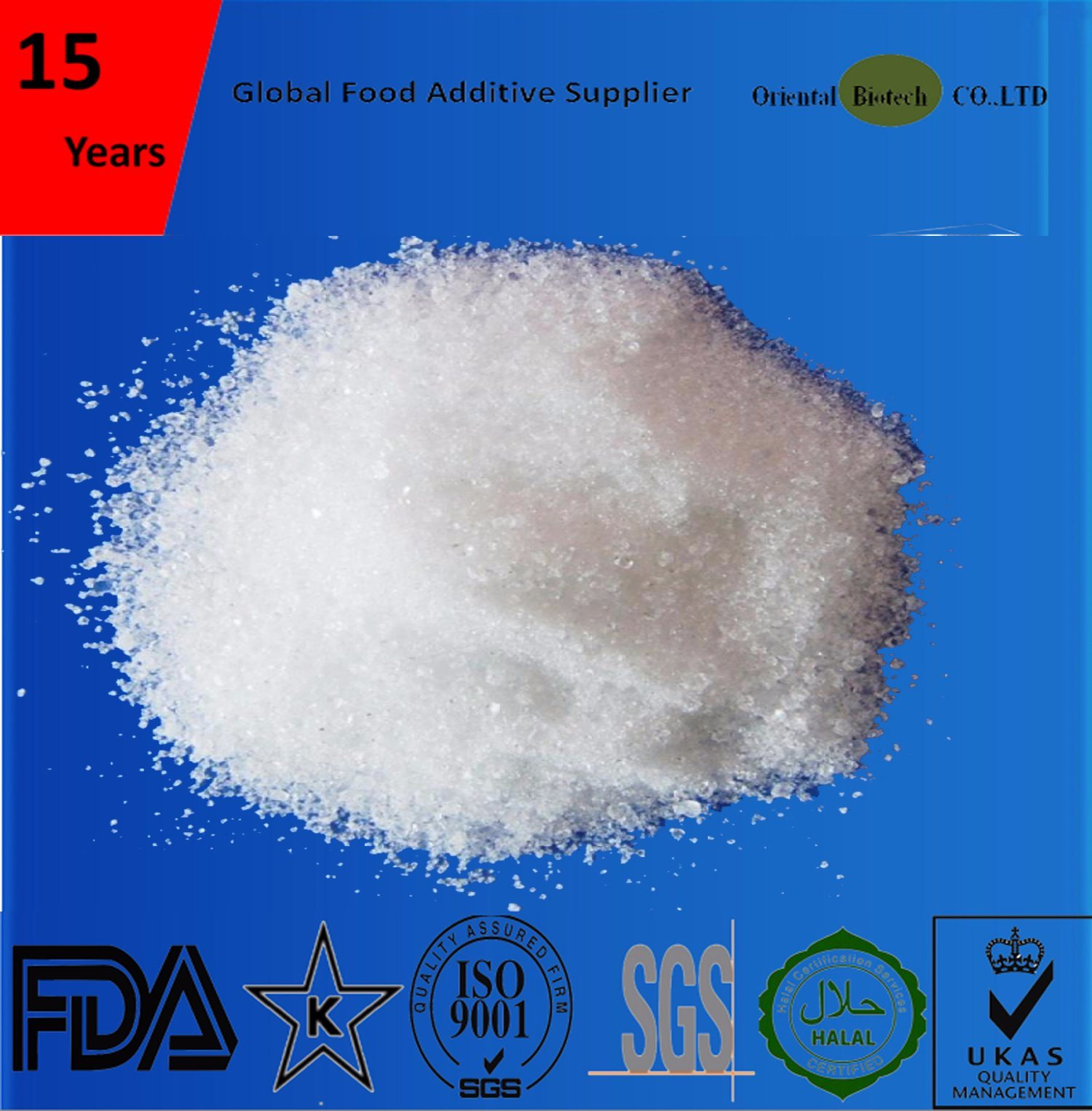 Natural Food Ingredients Acesulfame-K with High Quality