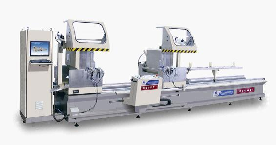 Double-Head Cutting Saw CNC for Aluminum Window & Door