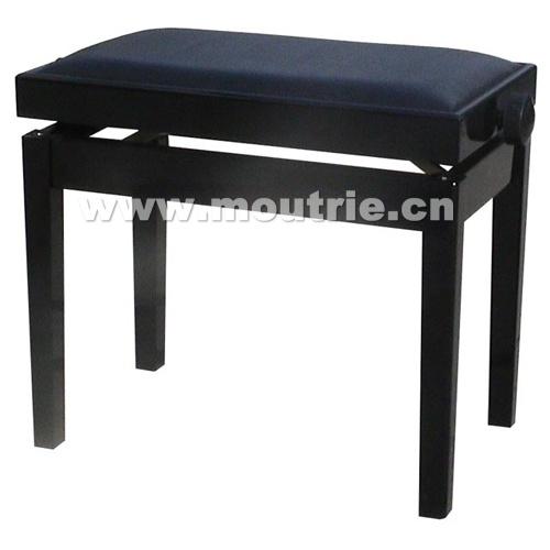 Musical Instruments Modern Black Adjustable Piano Bench Stool (D) Schumann