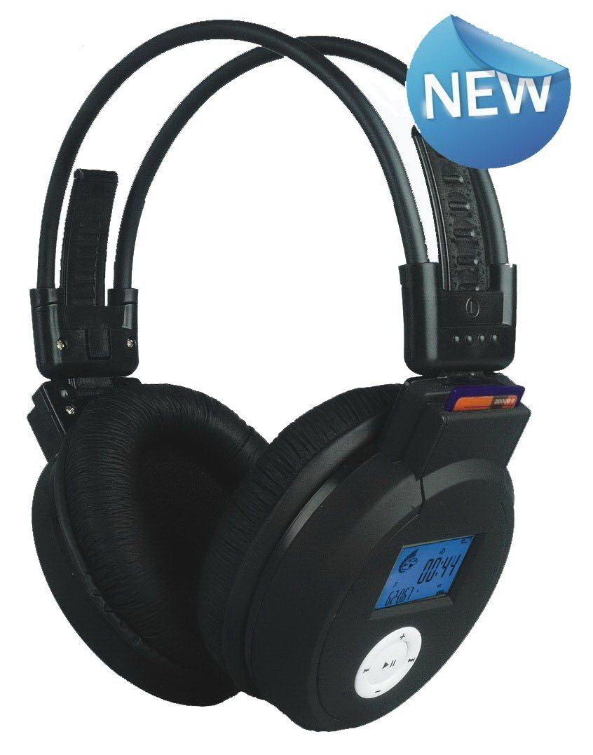 MP3 Wireless Sports Headset WST 860  - Polling for IT world comp jan 2013