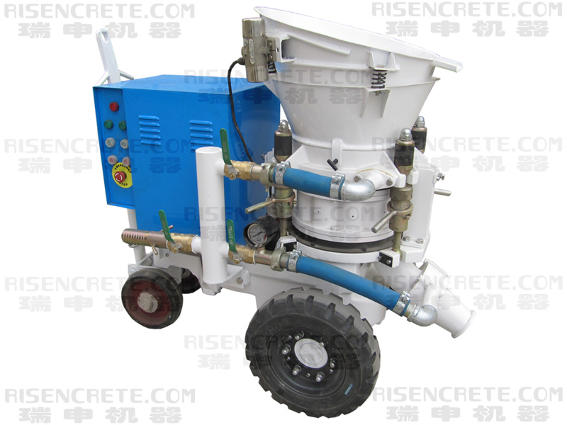 Dry Mix Concrete Spraying Machine (PZ-3 E-motor)