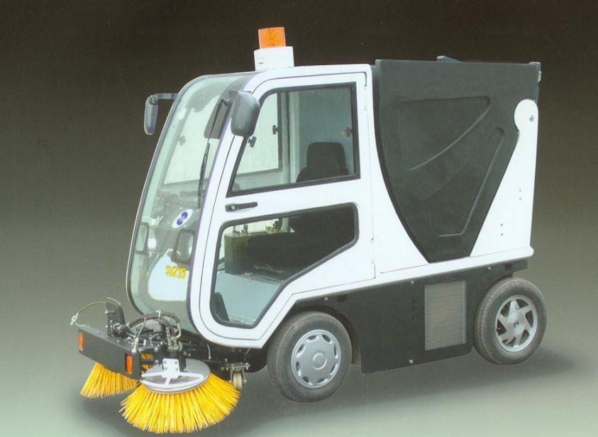 parking lot cleaner machine
