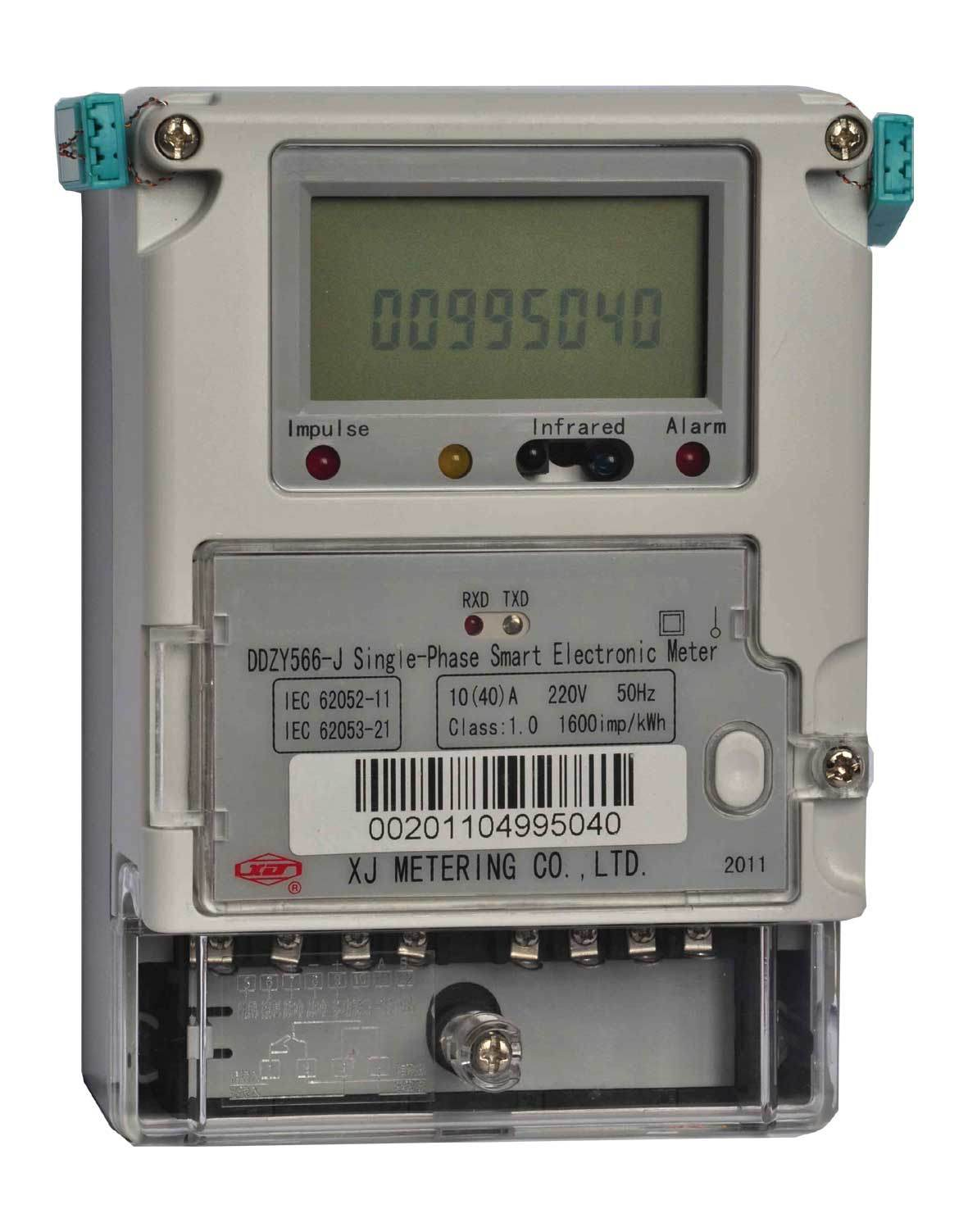 Electrical Phase Meter : China single phase smart electricity meter wireless mesh