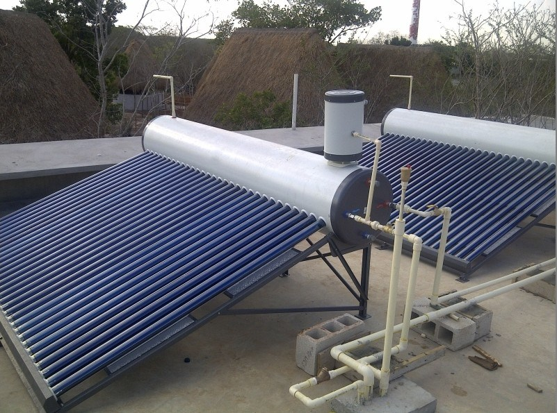 Copper Coil Solar Water Heater-CC Model