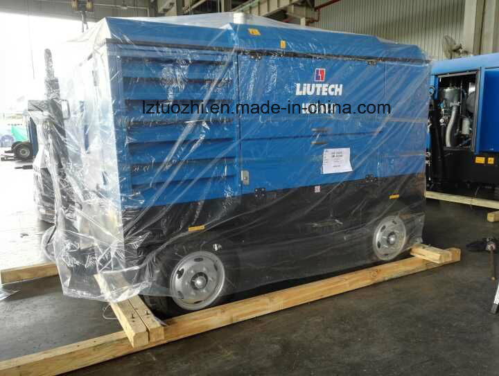 Atlas Copco Liutech 821cfm 14bar Portable Diesel Air Compressor