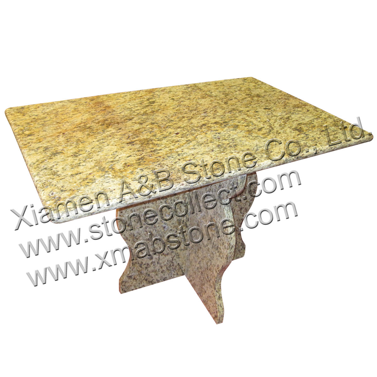 china yellow granite table top photos pictures made in. Black Bedroom Furniture Sets. Home Design Ideas