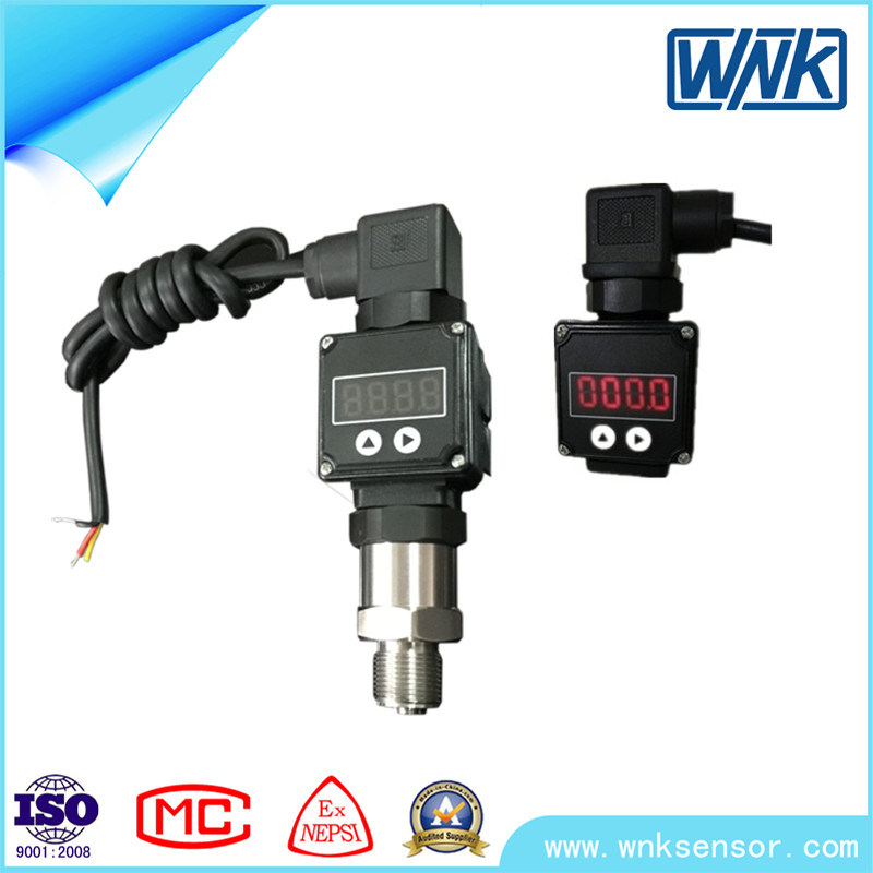 4-20mA Pencil Type Stainless Steel Pressure Transmitter for Water Tank-Factory Price