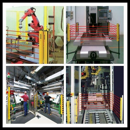 China Safety Light Curtain For Industrial Robotic