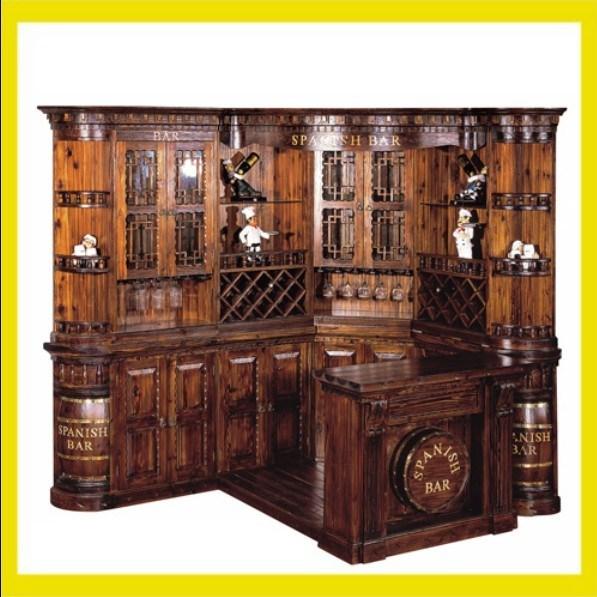 China wooden bar furniture dj