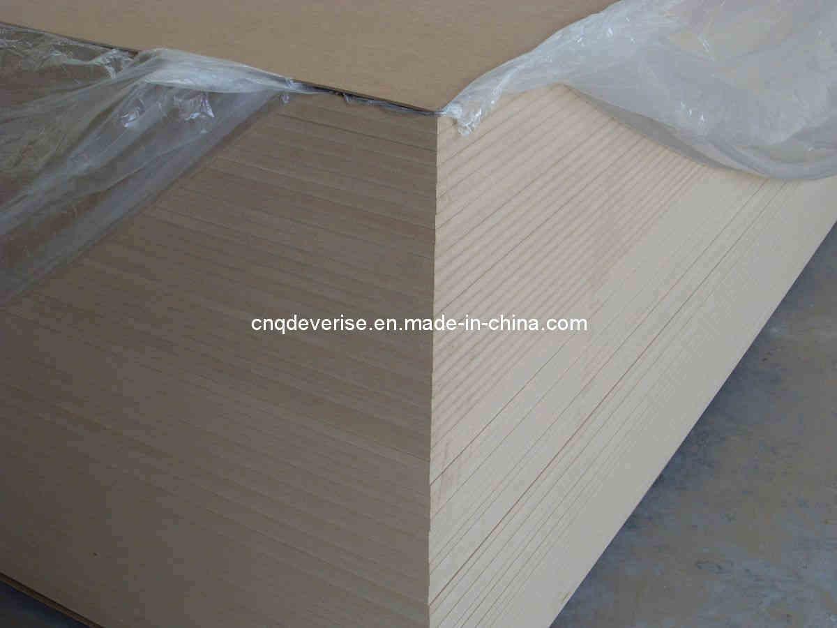 Raw mdf plain memamine wood board laminated