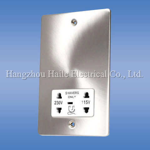 Light Switch with Socket (UK Standard)