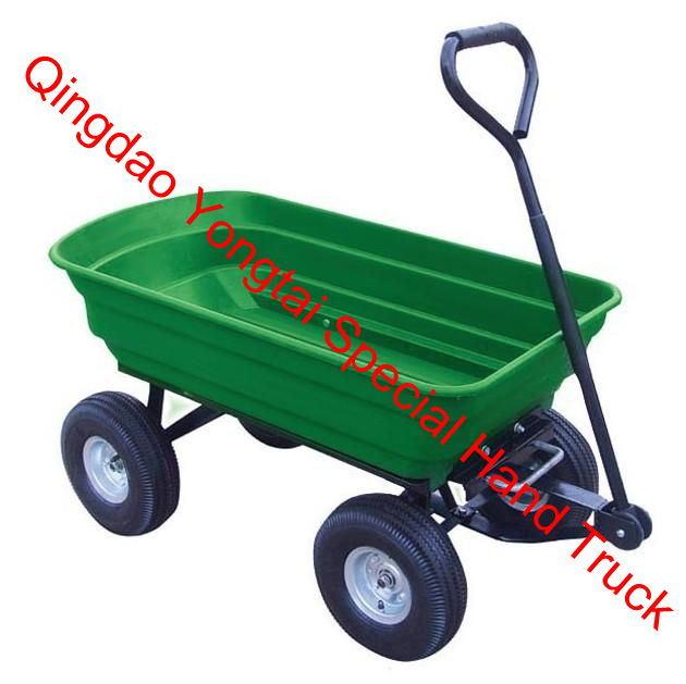 Easy Tip Garden Dump Cart
