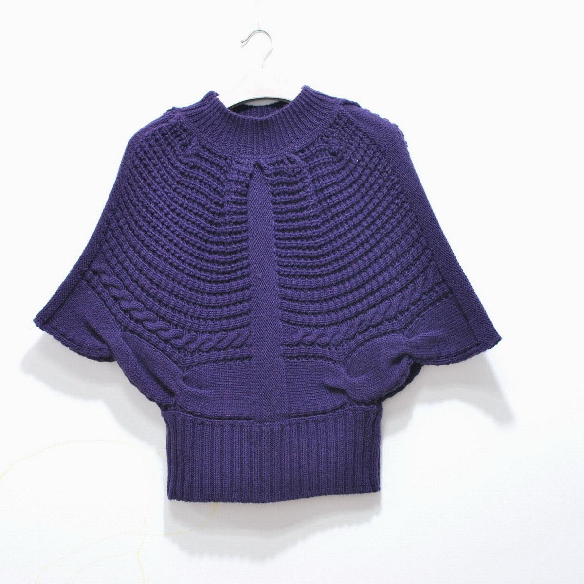 Knitting Pattern For Dolman Sleeve Sweater : China Lady?s Dolman Sleeve Knitted Sweater (X -S011 ...