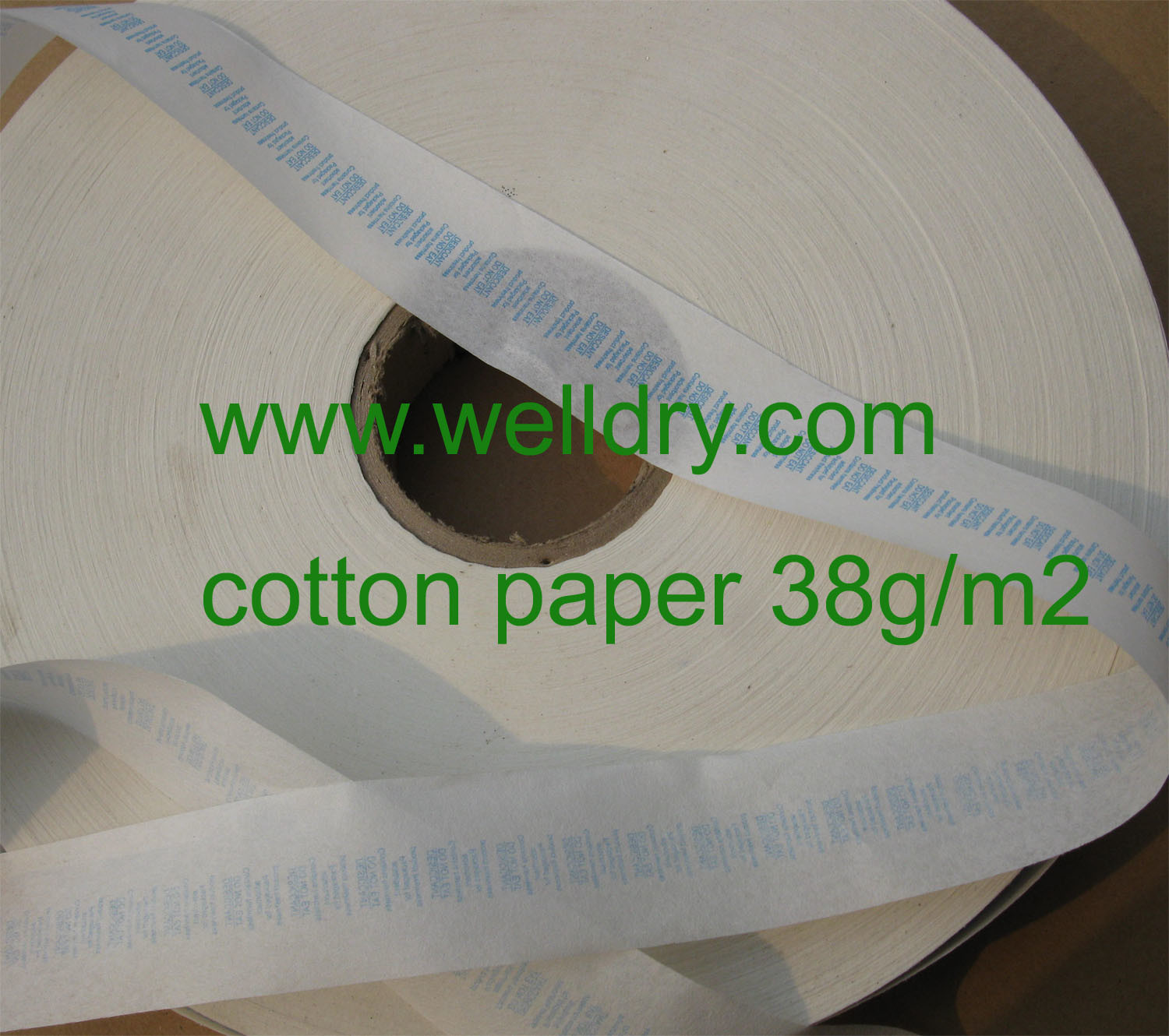 Packaging Paper for Silica Gel Desiccant, Cotton Paper