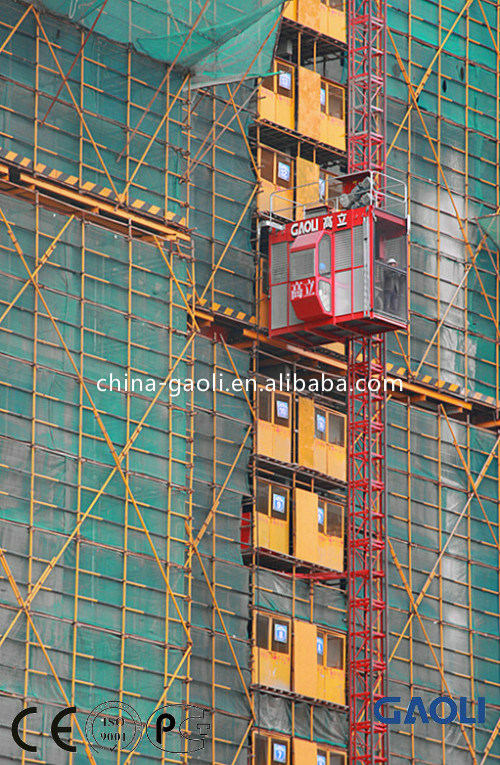 Sc Series Electric Frequency Conversion High Rise Building Hoist / Elevator / Lift