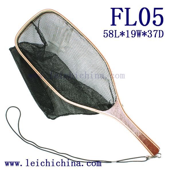 Fly Fishing Landing Net with Nylon Net