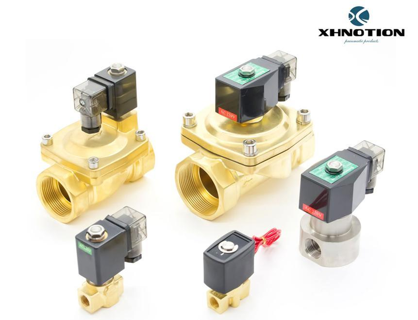 Solenoid Control Valve for Water and Pneumatic, CE1674 Approved