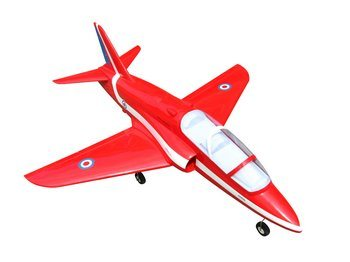 Red Arrow RC plane