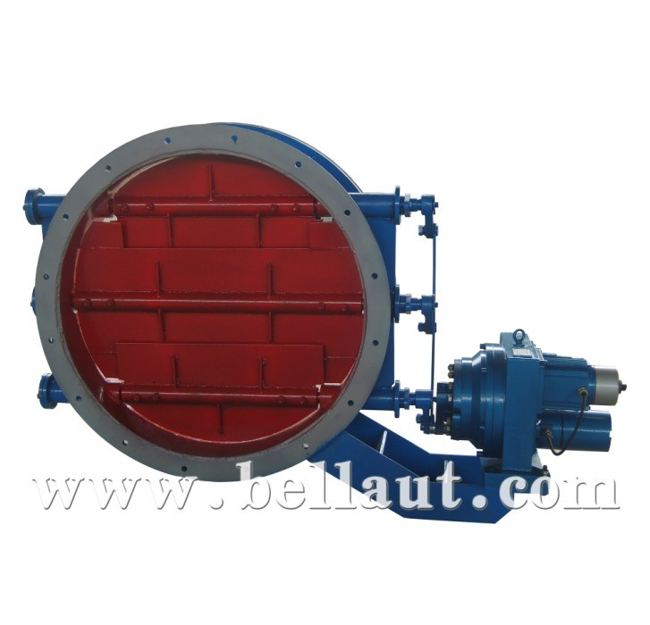 China Motorized Electric Control Damper With Actuator Type