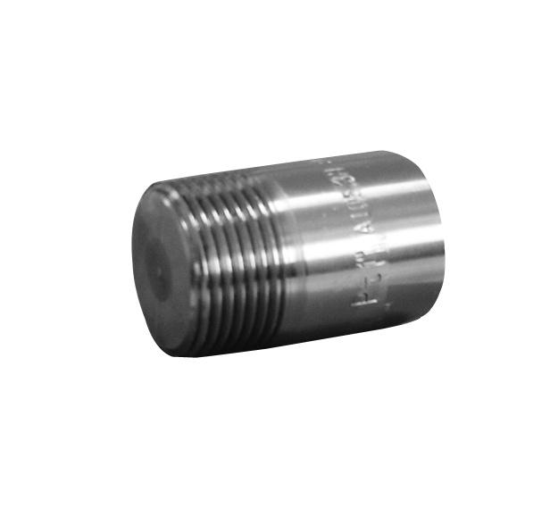 China round plug steel pipe fitting union