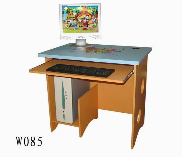 China Kid s puter Desk W085 China Wooden Toys
