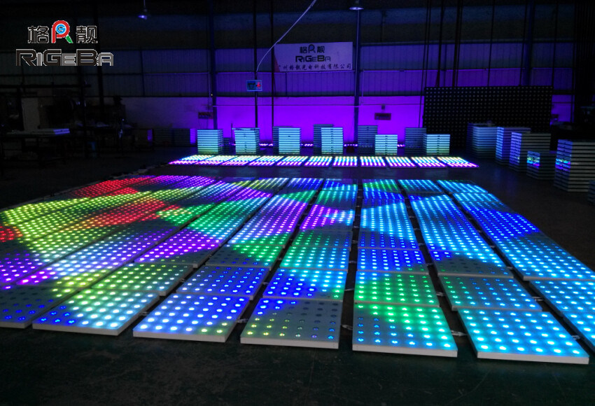 china 60x60cm waterproof led dancing floor led dj floor
