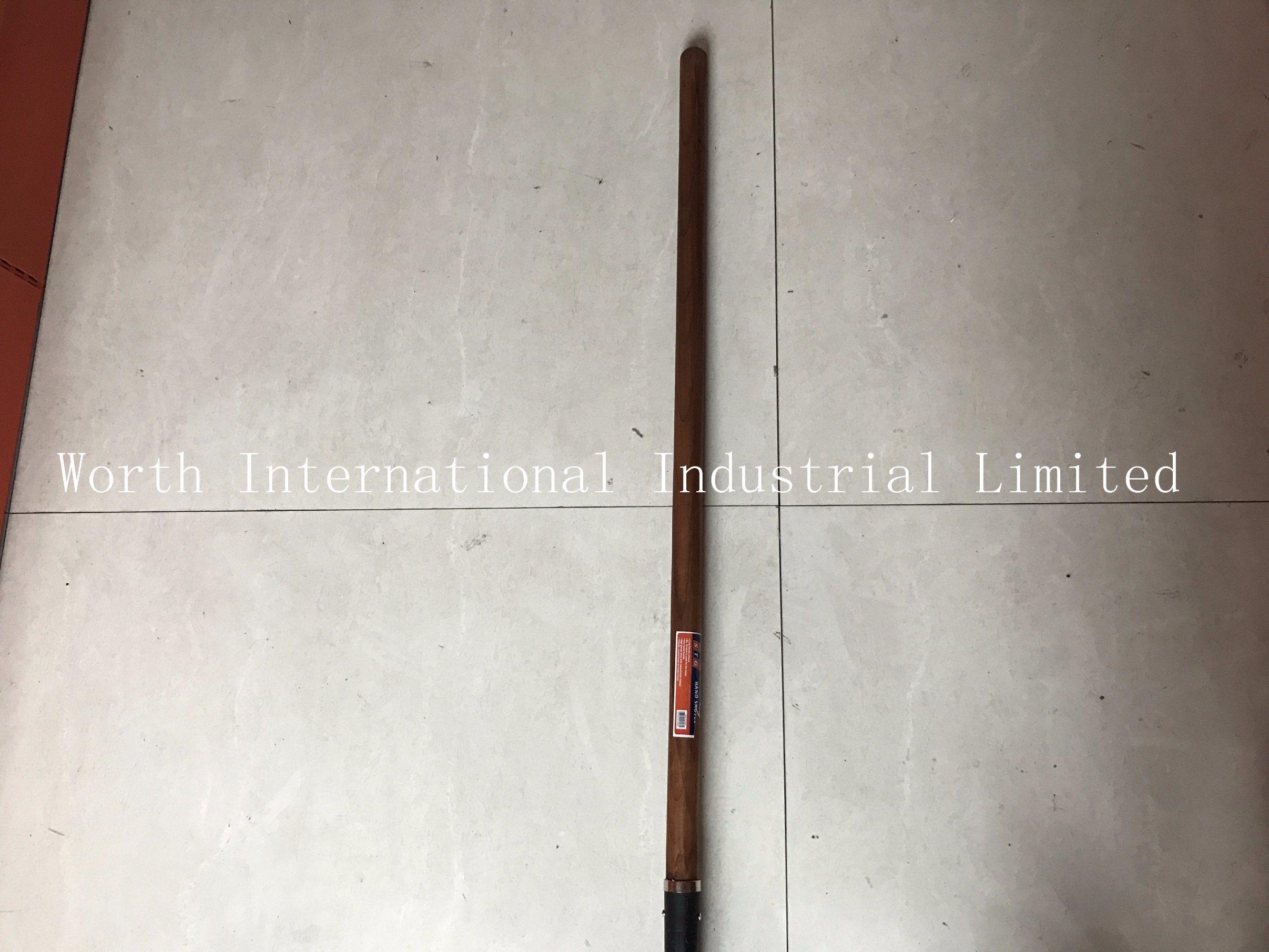 Long Wood Handle Brown Color Handle Shovel