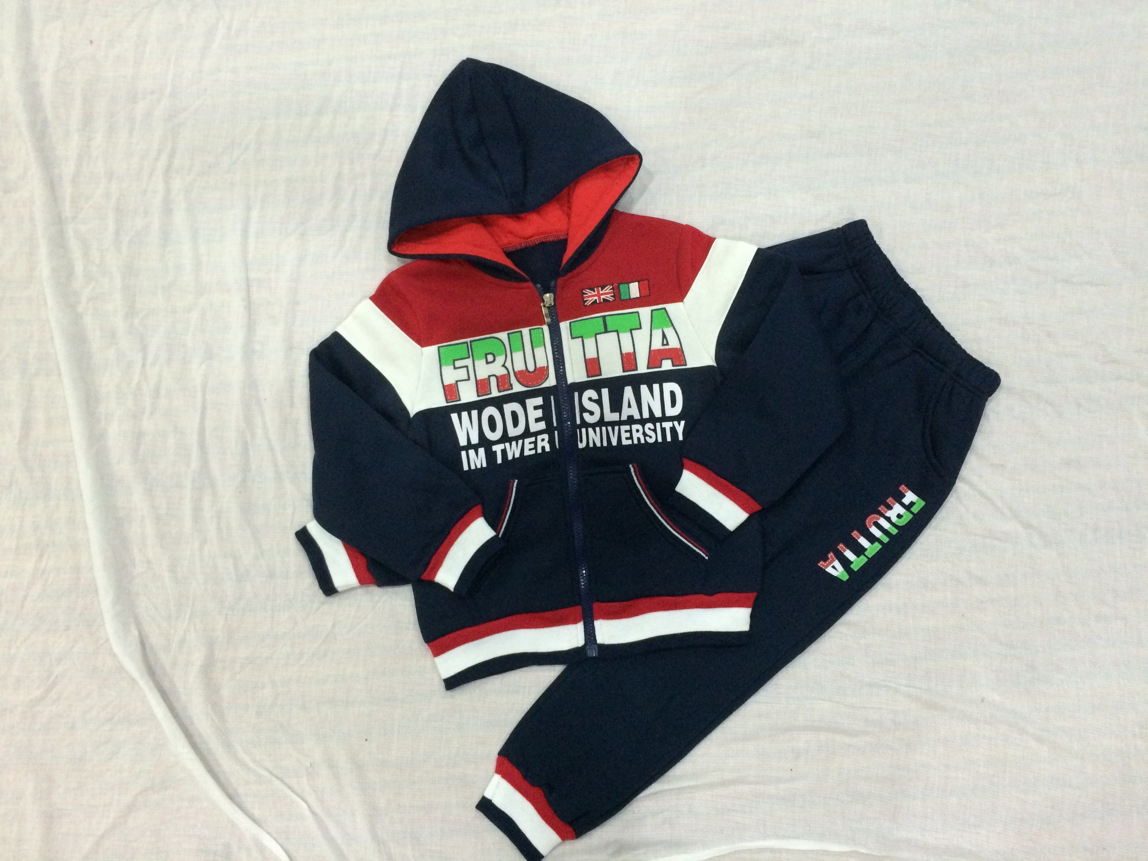 Kids Boy Sports Track Suit for Children Clothes Sq-6702