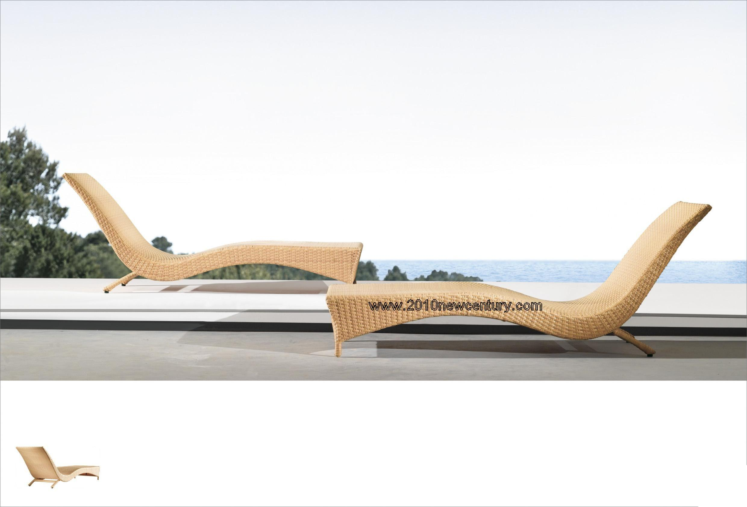 Lounger, Chaise Lounge, Sun Lounger, Rattan Lounger, Lounge Sofa, Lounger Bed, Sun Bed (5068)