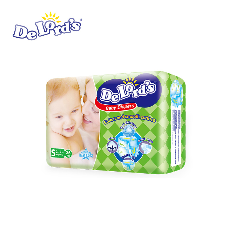 Disposable Baby Diapers Anti Leaking High Absorption Cosy Backsheet