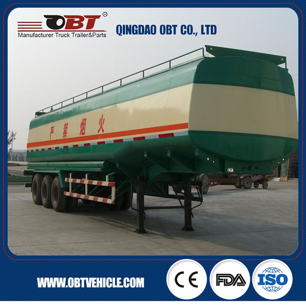 Stainless Steel Diesel Petroleum Tank Semi Trailer for Sale