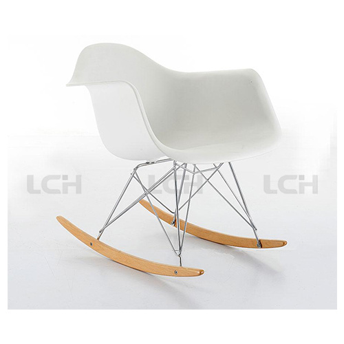 Plastic Material Rocking Eames Chair