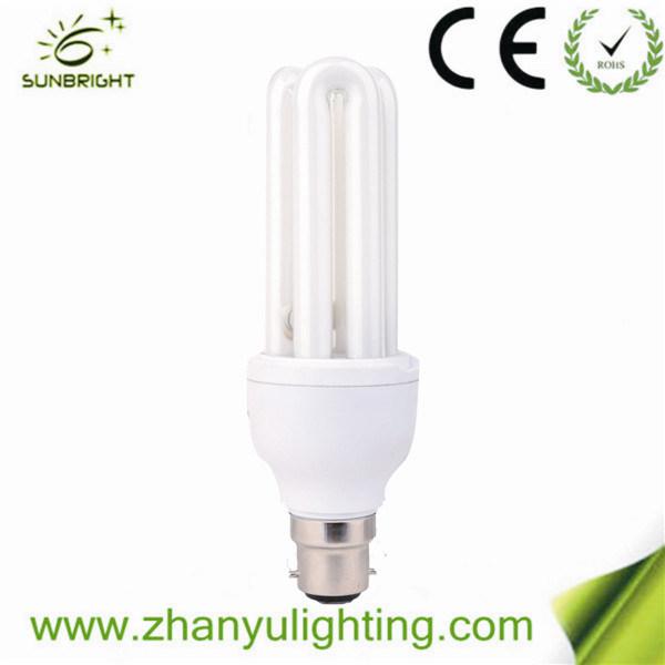 CE RoHS 3u Energy Saving Light Bulb