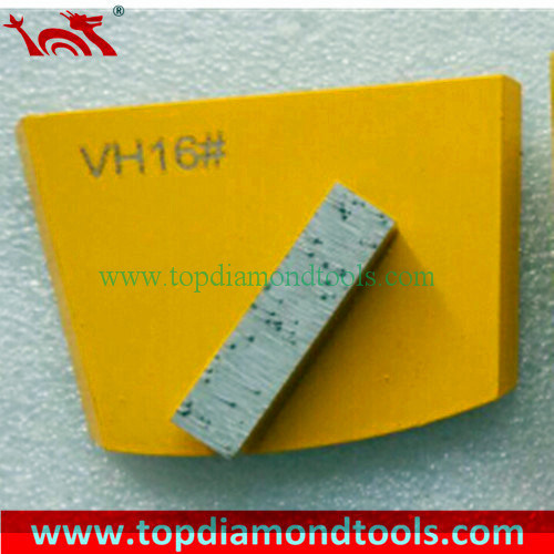 Concrete Grinding Pad/Diamond Metal Grinding Disc with One Bar
